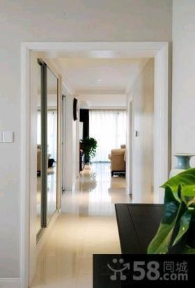 现代风格两室两厅家庭装修图大全2015