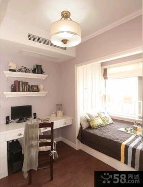 美式风格70平米一居室装修设计图片