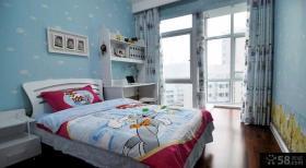 现代家居两室一厅客厅装修效果图大全2015图片