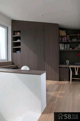 简约日式复式楼房家庭装修效果图