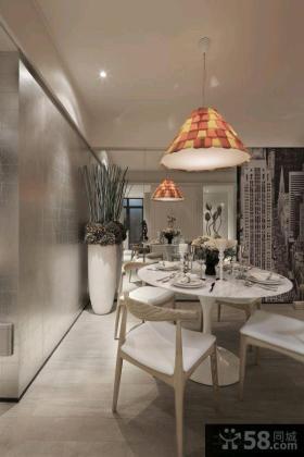 现代风格130平米四室两厅装修效果图欣赏