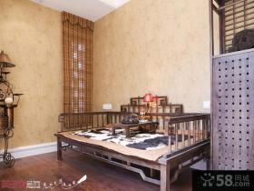 欧式风格别墅客厅壁纸装修效果图