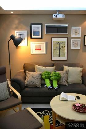 宜家风格客厅落地灯图片欣赏