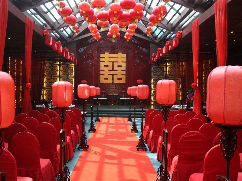 中式汉唐婚礼,中式婚礼,天津八抬大轿汉唐婚礼
