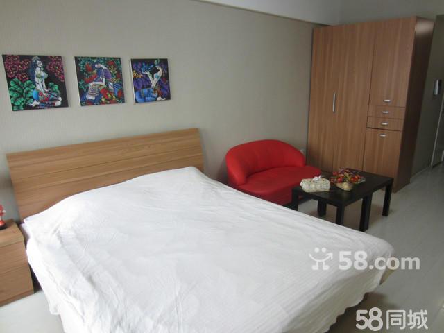 房屋效果图,工业大学铁西万达公寓 1室1厅40平米 精装修 押一高清图片