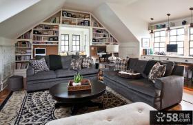 80平米小户型欧式现代客厅装修效果图