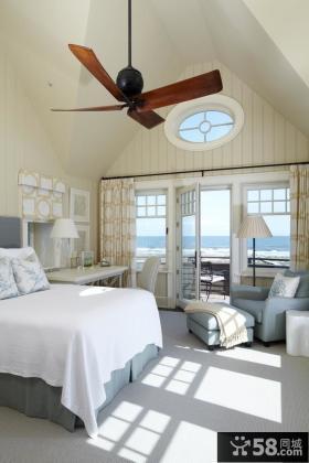 优质主卧室带阳台装修效果图大全2013图片