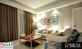 简约风格装修两室一厅效果图