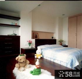 优质美式风小复式卧室装修效果图片