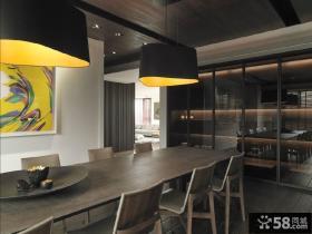 家庭设计室内餐厅效果图欣赏大全
