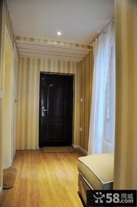 家居卧室玄关地板设计