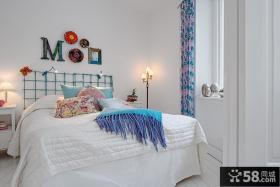 北欧风格70平米小户型卧室装修效果图