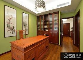 中式风格别墅装修效果图大全2014图片