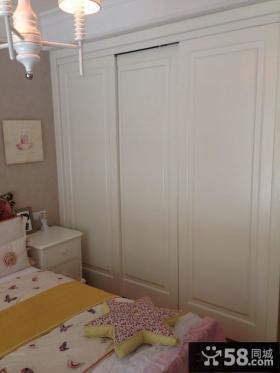 欧式家庭设计卧室衣柜图片大全