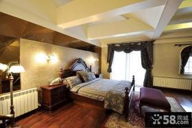 复式楼欧式风格卧室装修效果图大全2014图片
