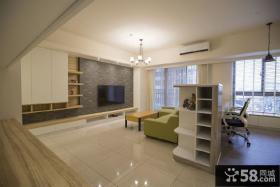 2015简约装修设计客厅电视背景墙图片大全