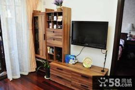 40平米小户型装修效果图客厅电视背景墙