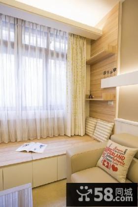 现代家庭设计室内飘窗图欣赏