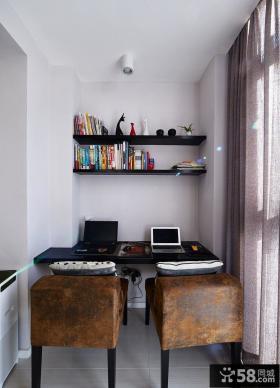 现代简约复式家居设计装饰效果图