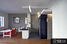 80平小户型装修 厨房餐厅装修效果图