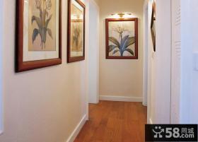 室内卧室过道装饰画图片