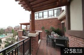 美式风格家居阳台图片欣赏