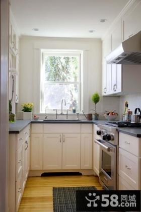 现代简欧风格厨房装修效果图大全2014图片