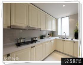 欧式整体厨房橱柜效果图片