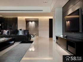 现代中式风格客厅装修效果图2014