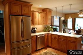 美式风格设计厨房效果图大全欣赏