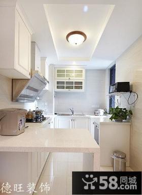 简欧式厨房装修效果图欣赏
