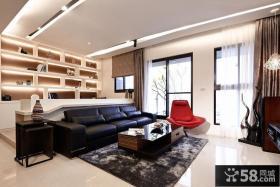 现代装修三室两厅效果图欣赏