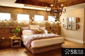 优质田园卧室装修设计图片