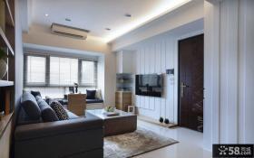 日式两房小户型房屋装修效果图大全2014图片