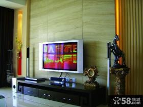 混搭宜家风格小户型客厅电视背景墙