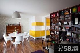 50平米小户型现代客厅装修效果图 客厅收纳柜装饰效果图