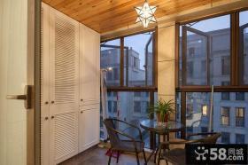 家具无框阳台玻璃窗图片