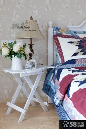 小卧室壁纸装修效果图片