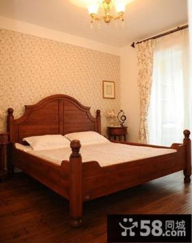 美式田园风格卧室装修图片大全