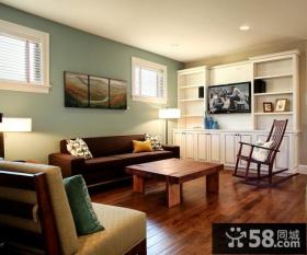 简约风格80平两室两厅装修图