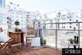 时尚简约小户型阳台设计效果图片
