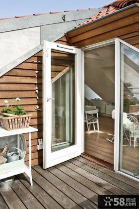 家装设计阳台阁楼效果图