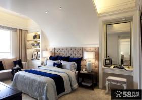 后现代风格主人卧室装修图片