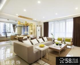 简约两室一厅客厅家具图片