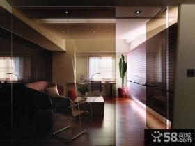 美式现代风格隔断室内设计图片欣赏