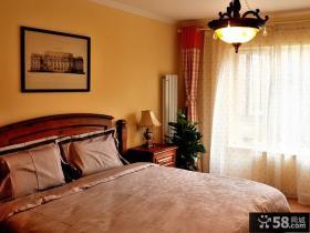 卧室床头背景墙装饰画效果图欣赏