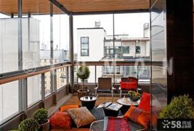 封闭式阳台设计图片2014