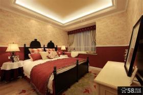 法式田园家居大卧室装修图欣赏