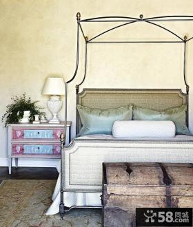 欧式田园风格卧室图片