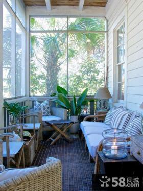 休闲家装阳台软装饰设计